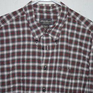 Eddie baure button up mens shirt size XXL J859